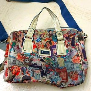 Vintage tokidoki passport bag purse